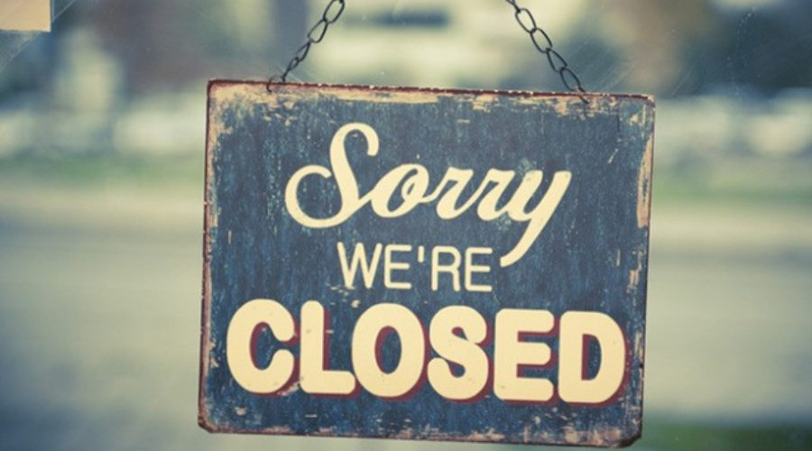 Wij zijn gesloten op 15 en 16 augustus