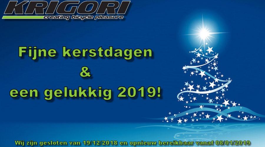 Gesloten tot 08/01/2019